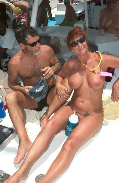 to spend their vacation on the nude beach together with their parents